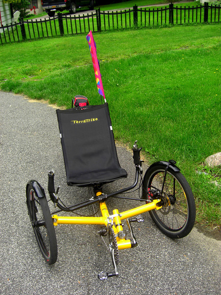 Tom's Trike, Ist ride, june 12, 2013  CIMG8803