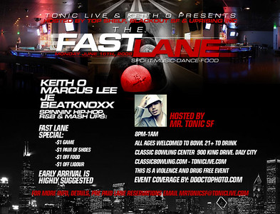 Tonic Live's Fastlanes @ Classic Bowl --- 6/16/08