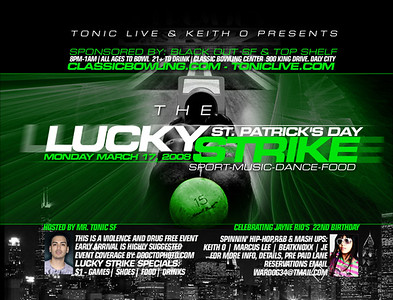 Tonic's Lucky Strike @ Classic Bowl