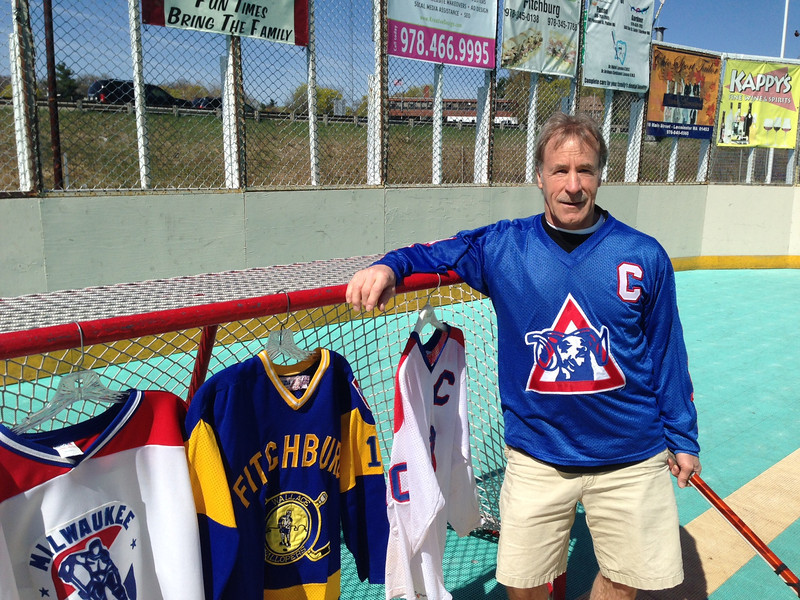 After a professional career in International League ice hockey, Leominster's Ray Richard made a name for himself closer to home on the Leominster Dek Hockey rink.