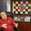 Fitchburg native Ron Bouchard is the owner of several local auto dealerships. Bouchard is a former NASCAR driver, who's career high was winning the Talladega 500 in 1981. SENTINEL & ENTERPRISE / Ashley Green