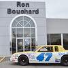 Fitchburg native Ron Bouchard is the owner of several local auto dealerships. Bouchard is a former NASCAR driver, who's career high was winning the Talladega 500 in 1981. Pictured is the car he won the Talladega 500 with, which he still owns. SENTINEL & ENTERPRISE / Ashley Green