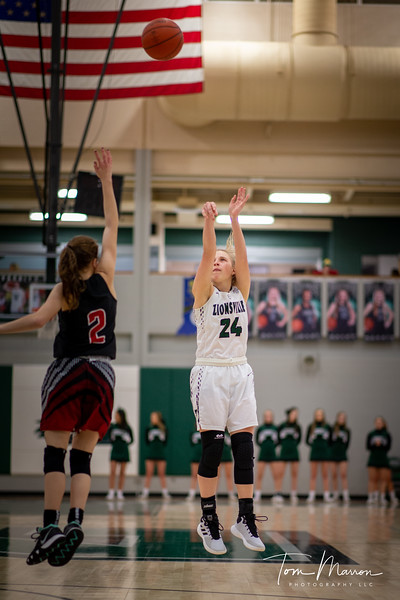 Maddie was one of the best to play for Zionsville, I would be remiss if I didn't have at least one of her.