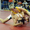 "Thompson Valley High School's Tanner Williams goes for a half nelson while wrestling Palo Verde High School's Jordan Hart in the 120-pound class during the Top of the Rockies wrestling tournament on Saturday, Jan. 21, at Centaurus High School. Williams lost the match. For more photos of the tournament go to  <a href=""http://www.dailycamera.com"">http://www.dailycamera.com</a><br /> Jeremy Papasso/ Camera"