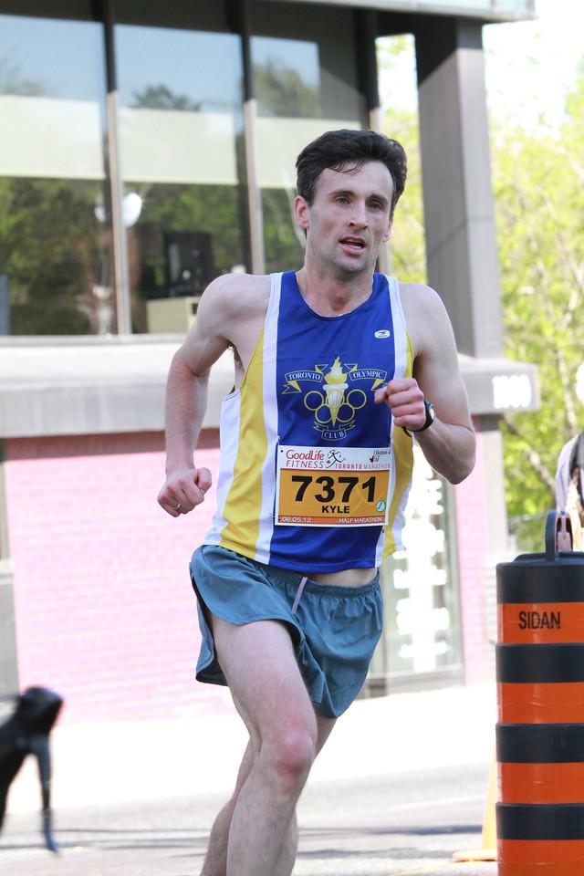 Toronto Marathon 2012 - 1/2 Marathon
