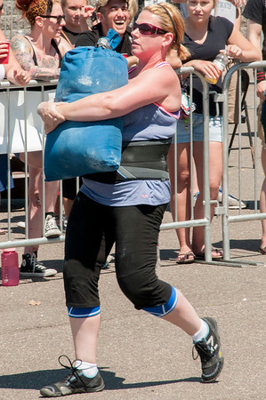 Sandbag Carry