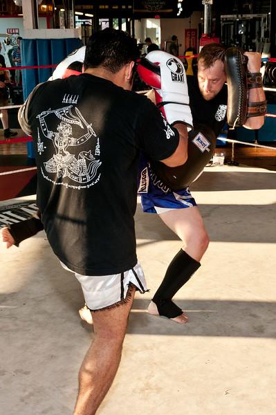 Kickboxing at TPS 7-28-2011