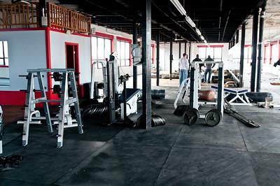 New Gym Rennovations 12-19-2010