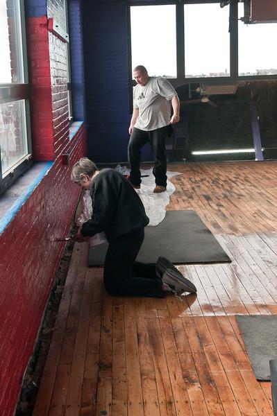 New Gym Rennovations 12-4-2010