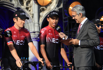 TdF 2019: 1 and 2 for Team INEOS, Egan Bernal and gerraint Thomas