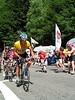 Armstrong con Ivan Basso