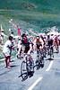 Grupo con Amrstrong, Zulle, Escartin en el Tour del 2000