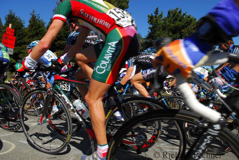 Tour of California, stage 1, Mt Tam,