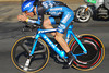 Levi in the flat part of the time trial.