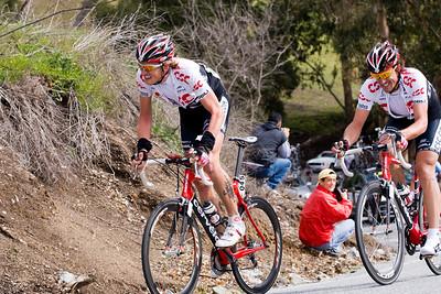 Gustav Larsson and Fabian Cancellara