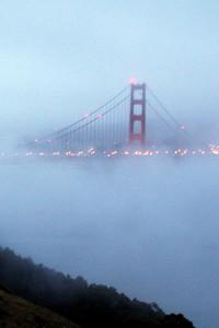 The Bridge in fog