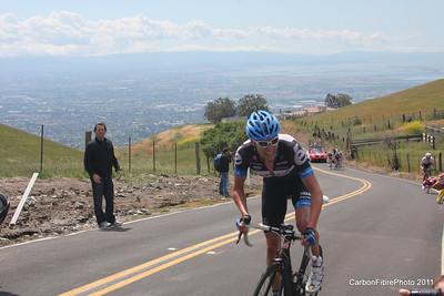 Stage 4, ( Hesjedal) Ascent, Sierra Drive