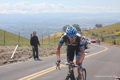 Stage 4, (Hesjedal) Ascent, Sierra Drive.