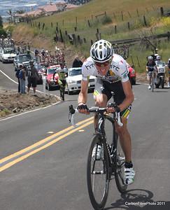 Stage 4, (Van Garderen) Ascent, Sierra Drive.