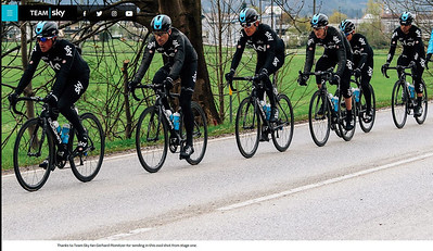 Published on Team SKY website: :-)