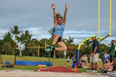 Ransom Everglades Track and Field. 2019