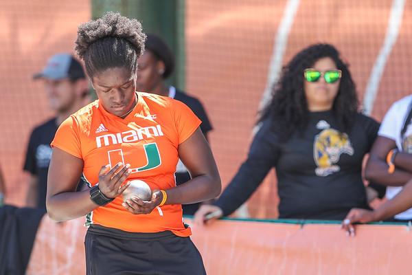 University of Miami Track and Field, 2018 Hurricane Invitational