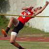 Daniel Boone's Jared Phillips placed third in boys high jump at the Big 7 Meet. Photo by Ned Jilton II