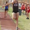 D-B's Adriana Watkins in the triple jump. Photo by Ned Jilton II