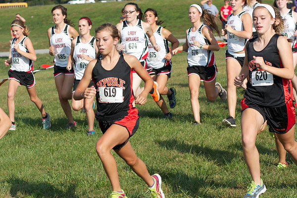 Cross Country vs Reeds Spring