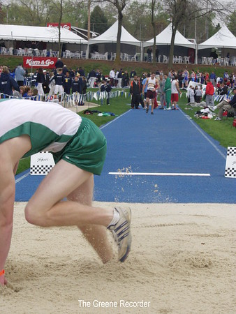 Ross Clapham at Drake Relays