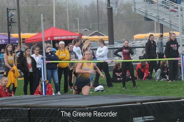 Girls Track at Garner