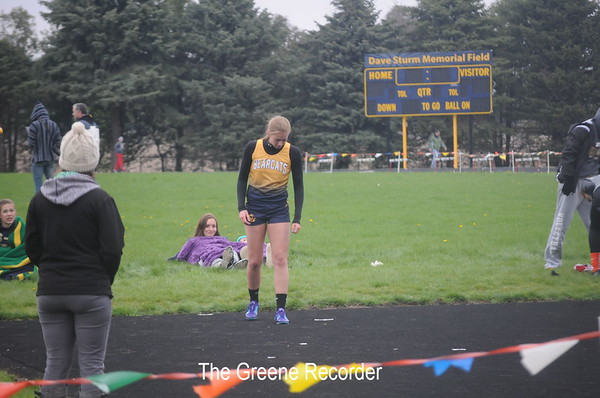 Girls Track at Greene