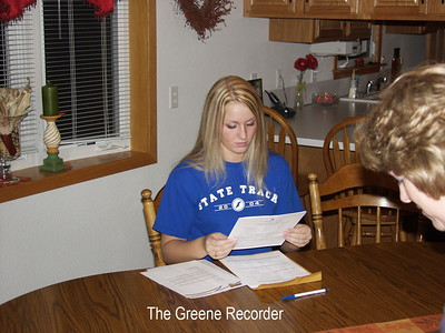 Courtney Signing Letter of Intent