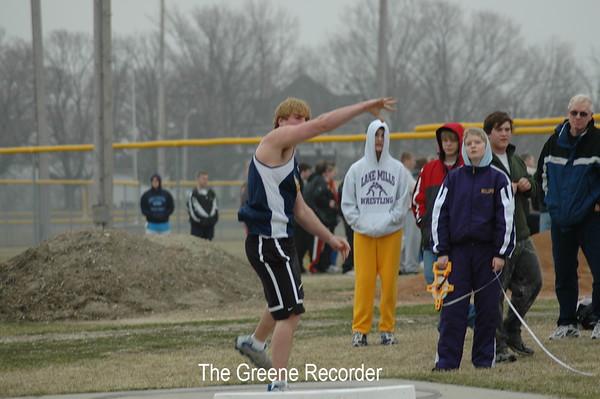 Boys Track at Lake Mills