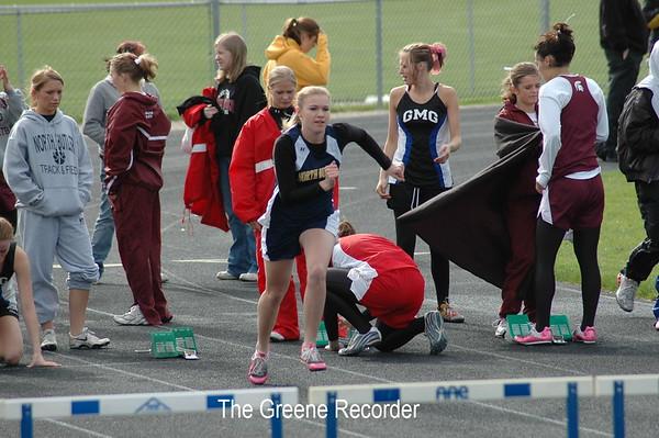 Girls Track at Dike