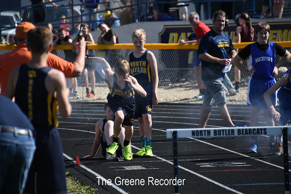 Middle School Track in Greene