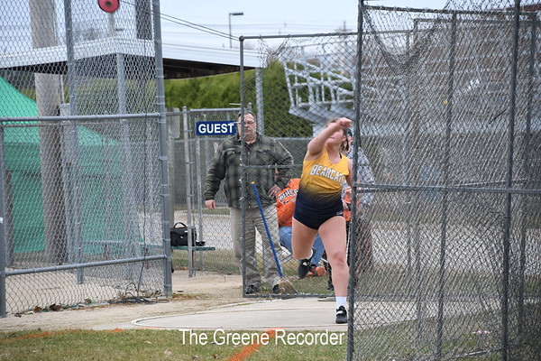 Girls Track at Osage