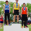 Kristian McCullough, 200m, final, Provincial High School track meet, Moose Jaw, Saskatchewan