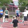 Kristian McCullough, 100m, semi final, Provincial High School track meet, Moose Jaw, Saskatchewan