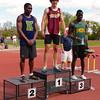 Kristian McCullough, 100m, City High School track finals, Regina, Saskatchewan