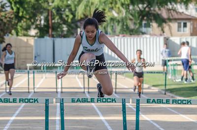 2014 Track Eagle Rock vs Franklin 27Mar2014