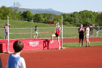 At the track and field meet at CVU. May 2012.