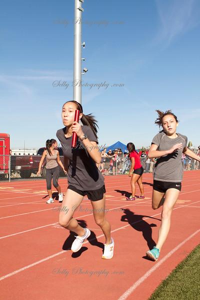 Esperanza High School AA-Comers track and field meet
