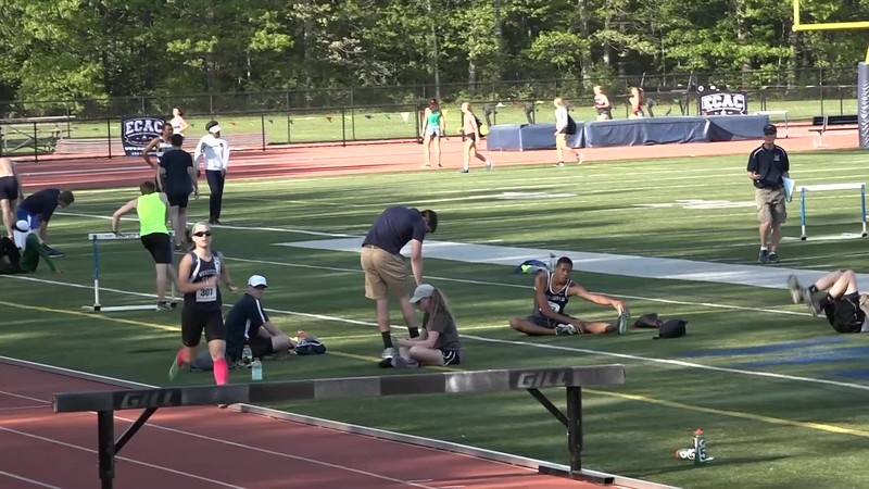 Final two laps of the 3000m steeplechase