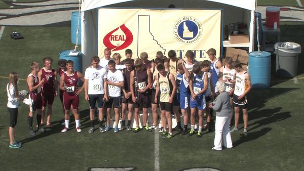 400 Meter Relay Podium Kuna State Champs