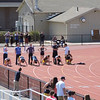 REAL TIME VIDEO - Men's 100m dash