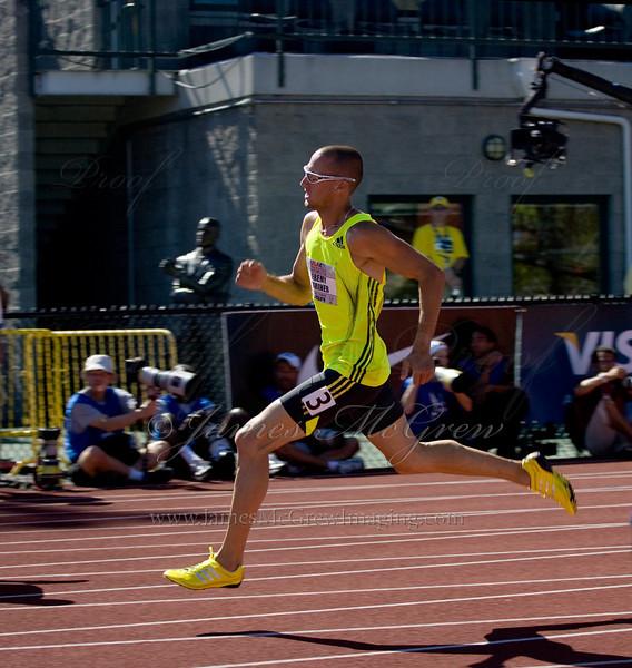 Jeremy Wariner in the Men's 200m.