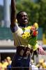 Women's 100m Hurdles Gold Medalist Dawn Harper.
