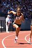 Women's Heptathlon winner, Diana Pikler at the start of the 800m.