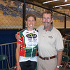 Ap and Dad at Track Nationals. '08